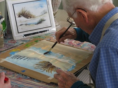 Discovering the Joy of Painting in Your 90s